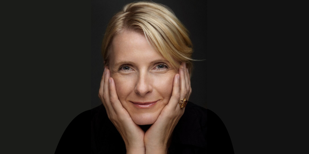 This is a photo of Elizabeth Gilbert.